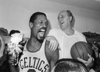BILL RUSSELL, RED AUERBACH