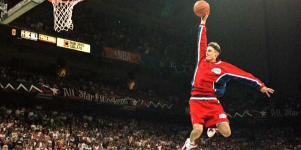 Brent Barry Slam Dunk Contest 1996 (c) Fox SportsRadio
