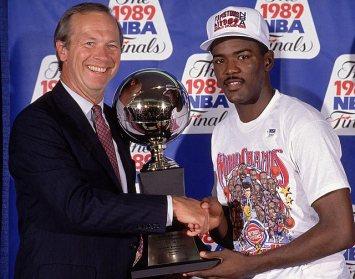 Joe Dumars MVP des Finales 1989