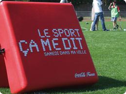 Consultant en communication pour Coca-Cola, Richard Dacoury a mis en place avec la marque le programme