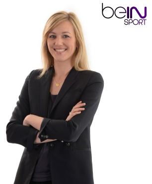 Mary Patrux, ancienne basketteuse à Franconville et journaliste à BeIn Spors (c) Dppi