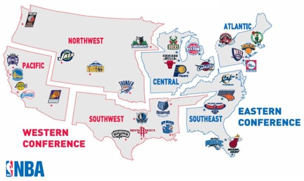Carte NBA