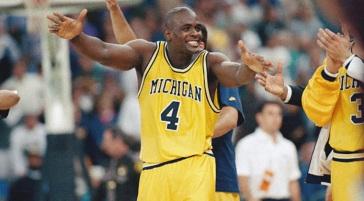Webber sous les couleurs de Michigan