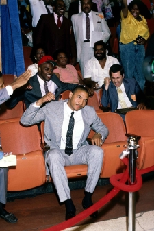 Mark Jackson lors de la draft 1987