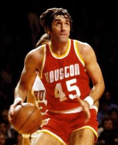 Rudy T aura porté qu'un seul maillot NBA pendant sa carrière de joueur : celui des Houston Rockets (c) hoppdiary.com