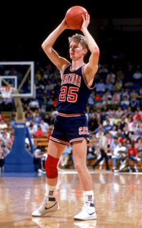 Steve Kerr - arizona wildcats (c)solecollector