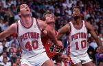 Les 32 points et 15 rebonds de Bill Laimbeer en 1989