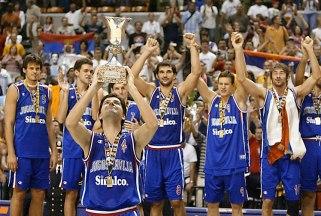 Championnat du monde 2002 - Yougoslavie vainqueur (c)ninemsn