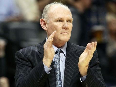 George Karl, coach de Team USA en 2002 (c) Isaiah J. Downing-USA TODAY Sports