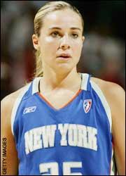 Becky Hammon - New York Liberty (c) Getty Images