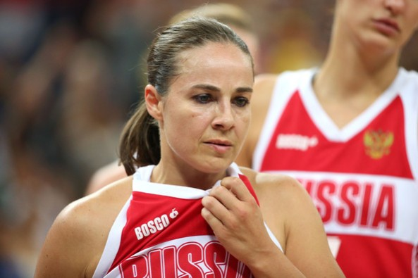 Becky Hammon Russia (c) Christian Petersen - Getty Images Europe