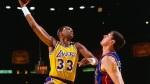 A 40 ans, Kareem Abdul-Jabbar d�cisif lors des Finals de 1988