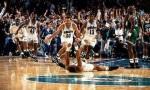 Playoffs 1993 : les Boston Celtics piqu�s au vif par Charlotte