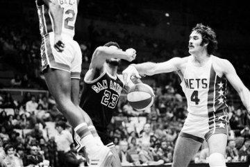 Nets Spurs 1975
