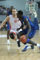 Moustapha Sonko sous le maillot bleu (c) FFBB