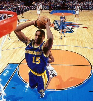 Latrell Sprewell aux Warriors (c) NBAE/Getty Images