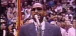 All Star Game 1983 ? Marvin Gaye revisite le Star Spangled Banner