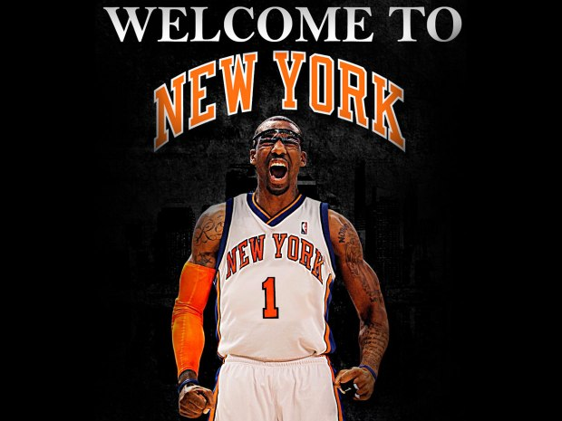 Amare Stoudemire à New York en 2010 (c) basketballwallpapers. com