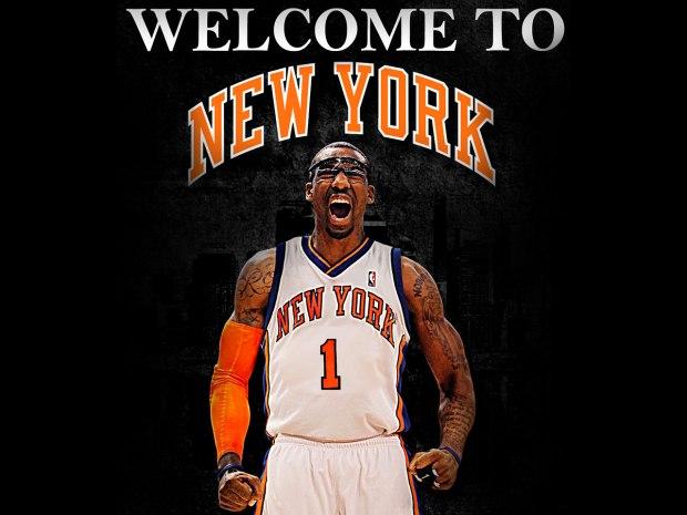 Amare Stoudemire à New York en 2010 (c) basketballwallpapers. com