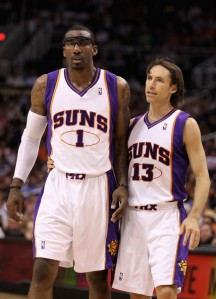 Amare Stoudemire - Steve Nash (c) Christian Petersen - Getty Images