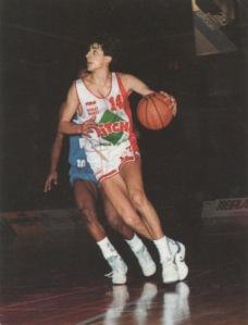 Antoine Rigaudeau formé à Cholet Basket (c) nishibtc
