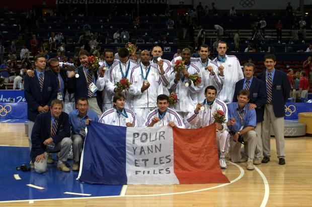 Antoine Rigaudeau - médaillé d'argent avec la France aux JO de Sydney (c) Herve Bellenger IS
