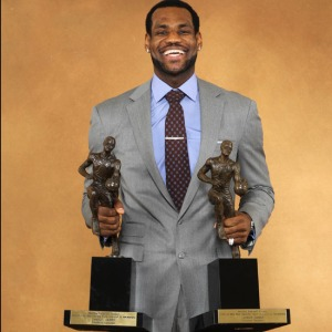 Lebron James, double MVP 2009 et 2010 (c) Nathaniel S. Butler NBAE via Getty Images