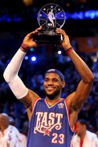 LBJ, MVP du All Star Game 2008