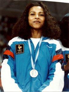 Paoline Ekambi - Médaillé d'argent Jeux Meditérranéen Montpellier 1993