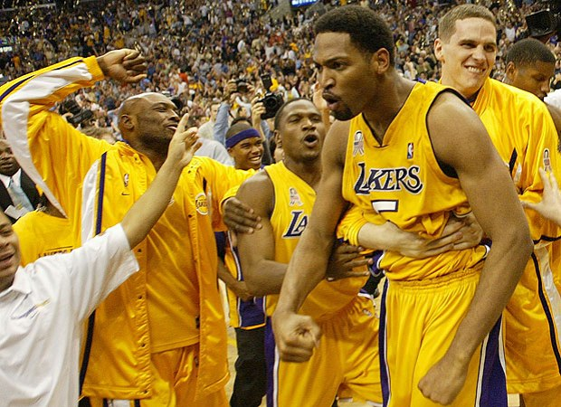 Robert Horry - Lakers shot against Kings (c) Lakersnation
