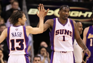 Stoudemire Nash - Phoenix Lakers Playoffs 2010 (c) Christian Petersen - Getty Images North America