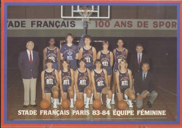 Equipe du Stade Français Paris 83-84