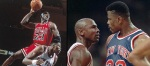 Le dunk pr�f�r� de Michael Jordan ? Le l�gendaire poster sur Pat Ewing !