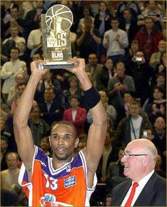 Eric Campbell, premier MVP de la Semaine des As 2006 avec le Mans (c) basketball.over-blog.com