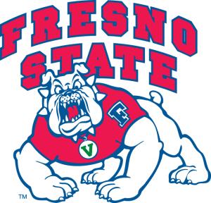Yannick Souvré a joué à Fresno State de 89 à 90 (c) sportslogos.net