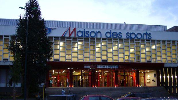 La Maison des Sports de Clermont-Ferrand, enceinte où s'est déroulée la Semaine des As en 2005 (c) Sanguinez