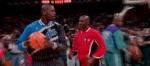 Quand Michael Jordan d�fiait le Shaq en un contre un