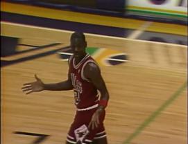 Jordan was he big enough