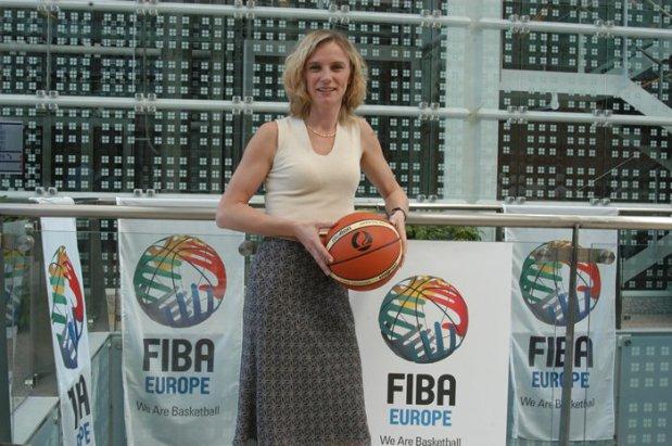 Yannick Souvré ex-directrice à la Fiba Europe (c) Fiba Europe