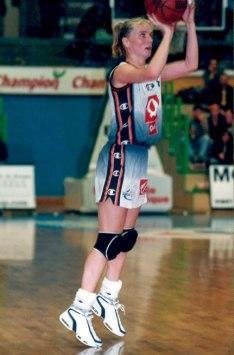 Avec Bourges, Yannick Souvré aura passé dix ans dans ce club mythique du championnat de France (c) Yannicksouvre.net