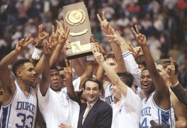 Duke champion NCAA 1992 (c) Jonathan Daniel - Getty Images