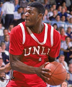 Larry Johnson à UNLV - (c) Ken Levine - Getty Images