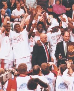 UNLV celèbre le titre NCAA 1990 (c) vegasseven.com