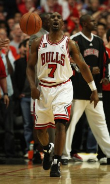 Ben Gordon lors du Game 4 Chicago - Boston (c) Elsa - Getty Images