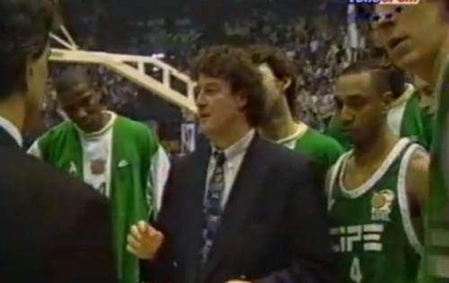 Greg Beugnot, premier coach français à hisser un club tricolore an Final de l'Euroligue en 1997 (c) basket-infos
