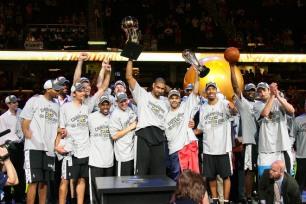 NBA Finals 2007 spurs champs
