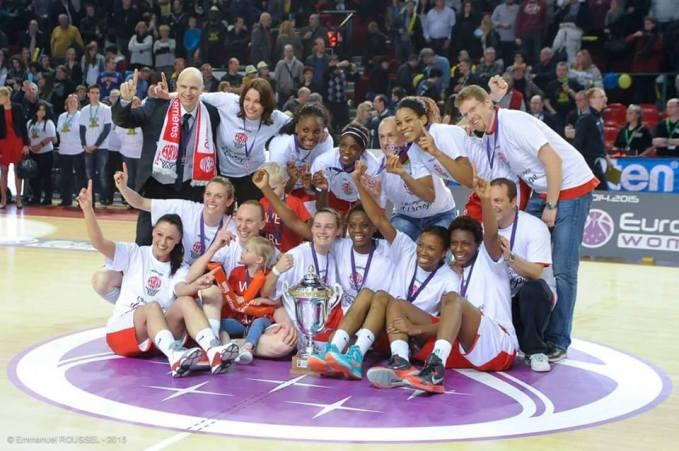 Villeneuve d'Ascq, grand vainqueur de l'Eurocup -c) FIBA Europe - Fred Moisse