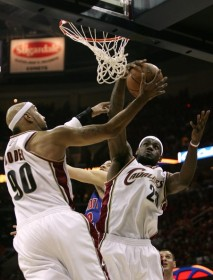 Lebron Cavs Pistons 2007