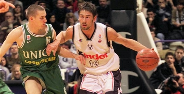 Marko Jaric lors de Kinder Bologne - Olimpija - Game 2 (c) Euroleague.net