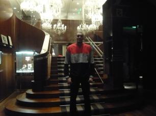 Rudy Gobert à Paris le 7 mai dernier (c) RS
